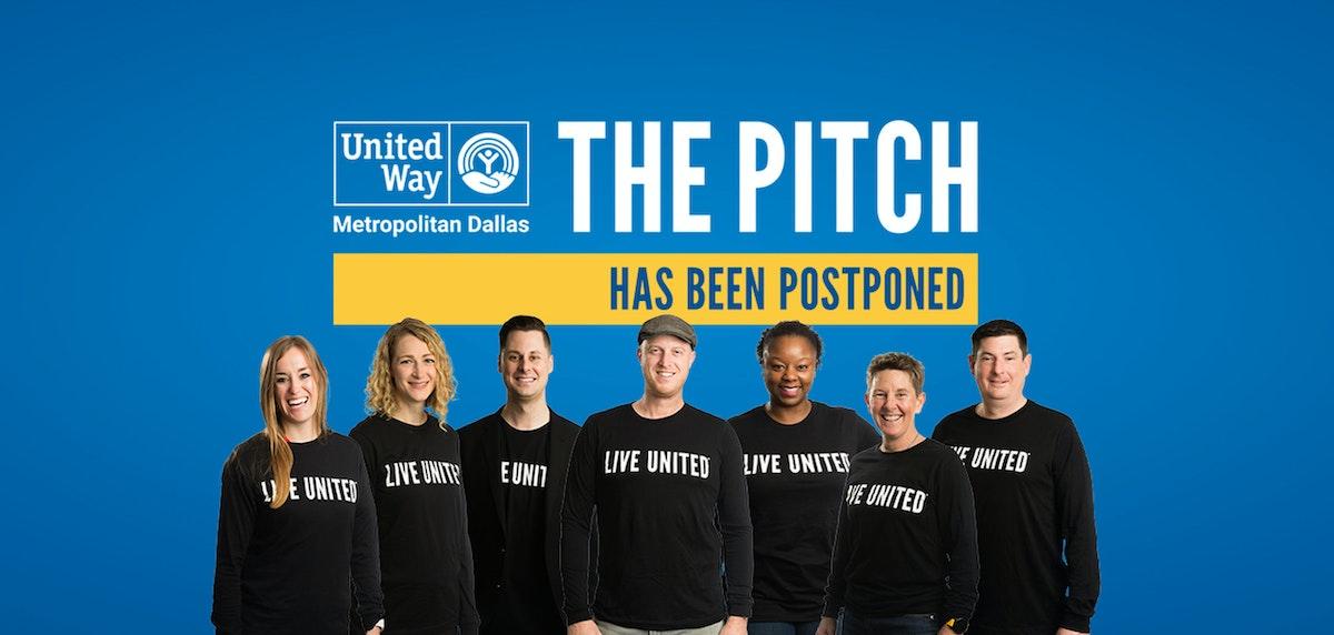 UWMD The Pitch finalists, Postponement