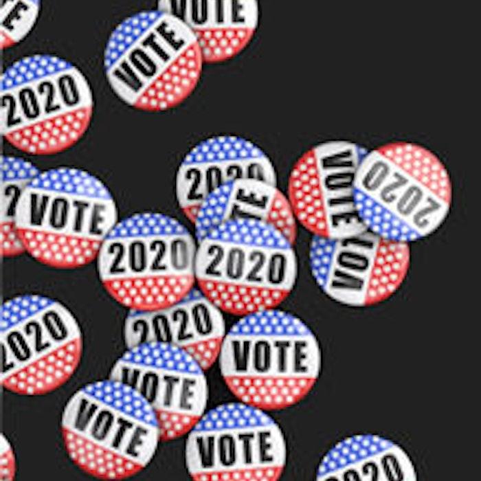 vote button graphic